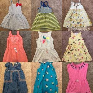 Lot of 10 4T dresses